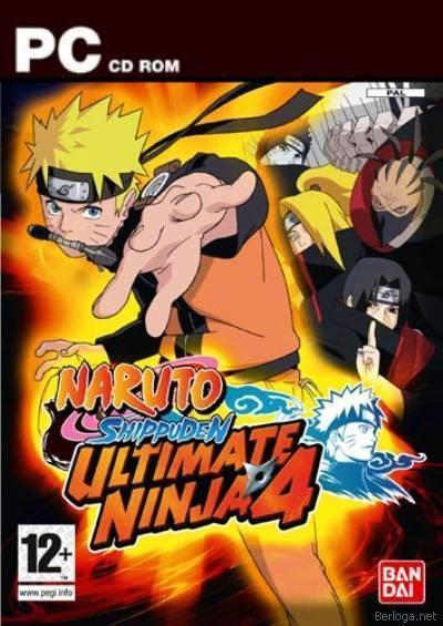 Скачать Naruto Shippuden Ultimate Ninja 4 (PC)