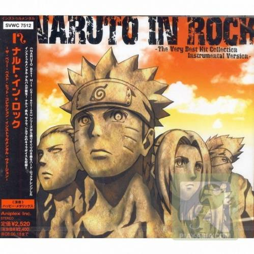 Naruto In Rock - The Very Best Hit Collection